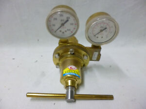 Meco Model P 600 Heavy Duty High Pressure Delivery Oxygen Single Stage Regulator