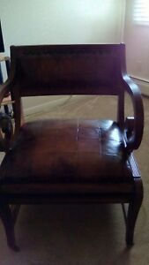 Vintage English Regency Style Mahogany Metamorphic Library Chair By Councill