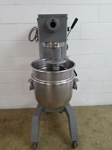 Univex M30 30qt Dough Mixer 115v Hook Bowl Tested Pizza Bakery
