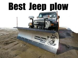Best Jeep Snow Plow Snowdogg Md68 Reliable Strong Perfect For Jeeps