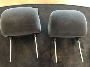 2002 2005 Dodge Ram 1500 2500 3500 Headrest Black Cloth Front Left And Right Oem