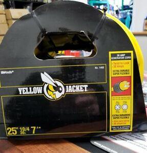 Coleman woods Yellow Jacket 10 4 25 Twist Lock 30 Amp Cord 1493 New