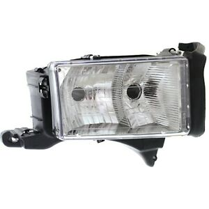 Headlight For 99 2000 2001 Dodge Ram 1500 Right Dual Beam With Sport Package