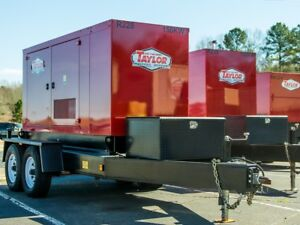 New Taylor Tmc100 100kw Tier 3 Towable Generator