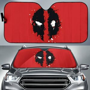 Cool Eye Deadpool Front Car Window Auto Sun Shade Windshield Block Cover