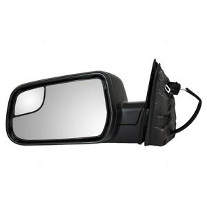 New Drivers Power Side Mirror Blind Spot Glass 10 17 Chevy Equinox Gmc Terrain