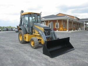 John Deere 310j Farm Tractor Loader Backhoe