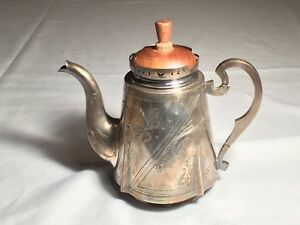Antique Russian Silver Teapot 84 Zolotnik Marked Varvara Baladanova Moscow