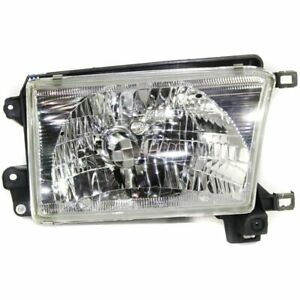 Headlight For 1999 2000 2001 2002 Toyota 4runner Right Halogen Clear Lens W Bulb