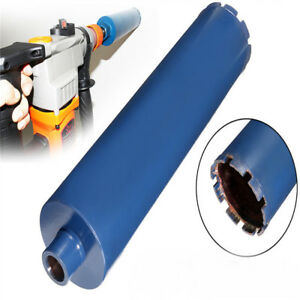102x450mm Wet Diamond Core Drill Bits Hole Saw Cutter For Reinforced Concrete