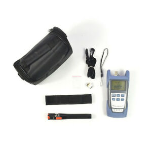 New Fiber Optical Power Meter 10mv Visual Fault Locator Optic Cable Tester