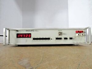Valhalla Scientific 4100atc Digital Low range Ohmmeter Power Tested