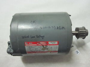Dayton 2n104n Electric Motor 3 4hp 3ph Fr f56 1725 1425rpm Low Voltage