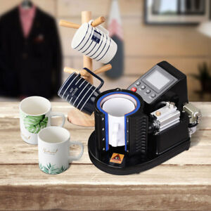 Automatic Pneumatic Mug Heat Press Transfer Sublimation Machine For 3 1 8 Cup