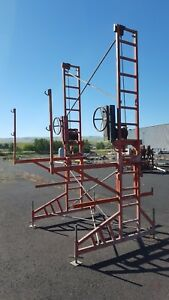 Ez Non Stop Heavy Duty Crank Up Scaffolding 31 Tall Can Ship Rusty Towers