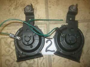 Cadillac Buick Olds Pontiac Gm Chevy 2 note Horn Set Notes A F Single Wire