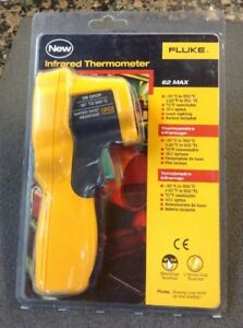 Fluke Infrared Thermometer 62 Max