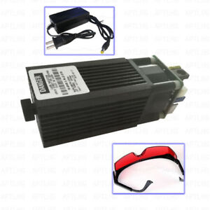 Focusable High Power 450nm 3 5w 3500mw Blue Laser Module Ttl Carving Burning