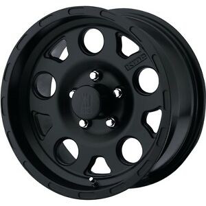 15 Inch Wheels Rims Black Xd Xd122 Jeep Wrangler Cherokee Ford Ranger 5 Lug New