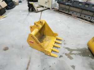 Caterpillar 302 Mini Excavator Bucket New Cat Teeth Teran 8j7525 14 Cubic Yard