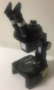 Bausch Lomb Stereozoom 4 Microscope 0 7x 3 0x 10x Wf W Stand Clean