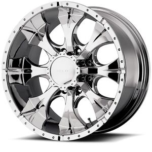 17 Inch Chrome Wheels Rims Chevy Silverado 2500 3500 Hd Gmc Sierra Truck 8 Lug