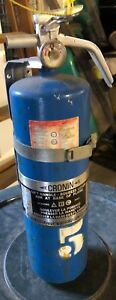 9 Lb Halon 1211 Clean Agent Fire Extinguisher Sealed Bottle Should Be Re charged