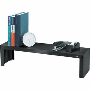 Fellowes Fel8038801 Designer Suites Shelf 1 Each Black pearl W