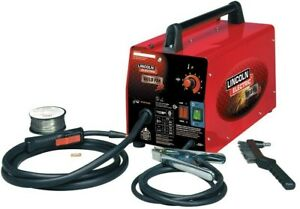 Lincoln Electric Welding Machine 1 8 In Flux core Wire Feed Compact Portable