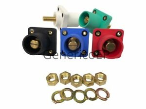Camlok Panel Mount Male Cls40mrsb abcde Cam Lok Threaded Stud Set Of 5