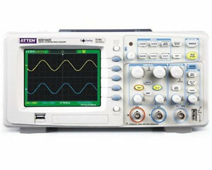 1pc New Atten Ads1042c Digital Oscilloscope 40mhz Bandwidth 2 Channels 500msa s