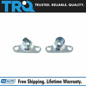 Trq Tailgate Hinge Body Mounted Set Pair 2pc For Ford F150 F250 F350 F450 Ranger