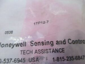 Honeywell 1tp12 7 Switch Rocker Spdt New In Factory Bag