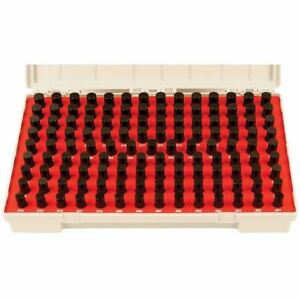 Vermont Gage Black Guard Class Zz Pin Gage Set Range 0 5010 0 6250