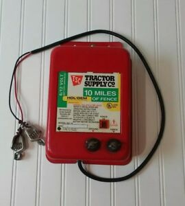 Tractor Supply Hol Dem Electric Fence Controller S21 6 12 Volt Battery Operated