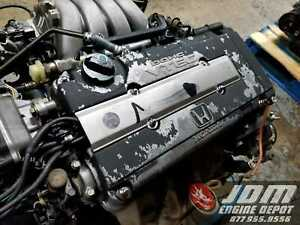 94 95 Honda Integra Gsr 1 8l Dohc Vtec Engine Mt Swap B18c 1001795 Free Shipping