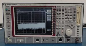 Rohde Schwarz Fseb20 Spectrum Analyzer 9 Khz 7 Ghz