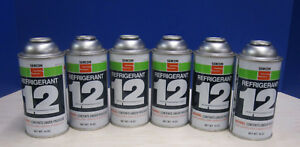 6 Cans Of R 12 Freon refrigerant unopened A c Hvac R12 R 12 Car Truck