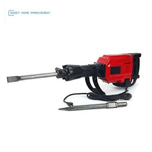 2200watt Heavy Duty Electric Demolition Jack Hammer Concrete Break Xtremepowerus