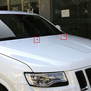 Car Windshield Washer Water Spray Nozzle Cover For Jeep Grand Cherokee 2014 2018