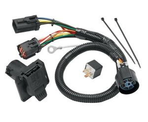 7 way Rv Trailer Wiring Harness Kit For 2004 Ford F 150 W factory 4 flat New