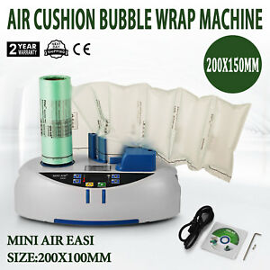 Air Easi Cushion Bubble Wrap Machine For Mini Air Easi Pouch Size 20x10cm