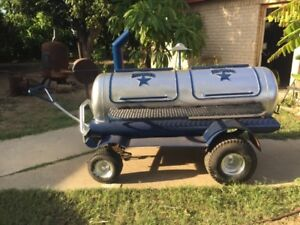 Custom Made Dallas Cowboys Bbq Pit