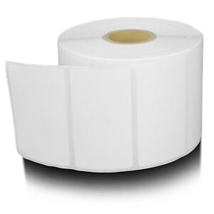 Zebra Compatible Removable Direct Thermal Remove Labels 2 25 x1 25 20 Rolls