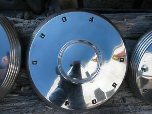 1960 63 Galaxie Fairlane falcon Ford Hubcaps 4 10 5