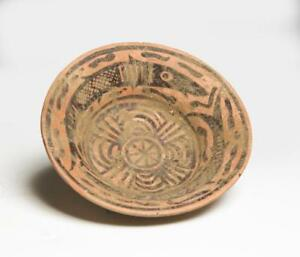 Indus Valley Nal Culture Decorated Dish Circa 2600 2000 Bc