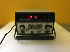 Sencore Lc53 z Meter 1 0pf To 199 000mf Capacitor Inductor Analyzer Tested