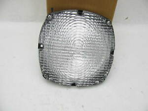 7 Clear Square School Bus Back up Lights Signal stat Ce6002w