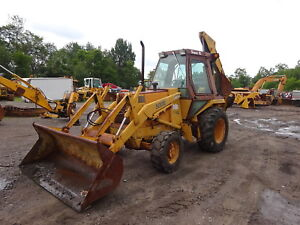 Case 580se Backhoe Loader 4x4 580 Super E 580e Tractor 4wd P s Full Cab