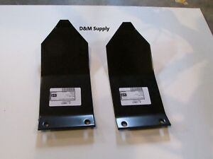 Bush Hog Disc Mower Skid Plate Dm7 Dm8 Dm9 2 Pc Set Heston New Idea